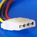 power supply in a computer - 4pin ata
