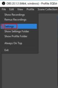 My Twitch Stream Key OBS Streaming Software Settings