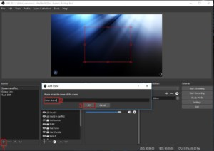 Scene create for Twitch Stream Scenes for OBS - How to Use OBS Studio Software