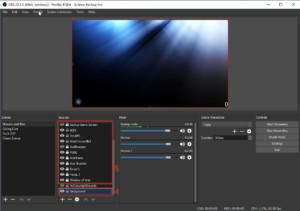 Sources 1 for Twitch Stream Scenes for OBS - How to Use OBS Studio Software