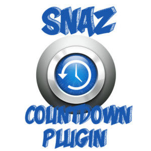 Example of OBS Countdown Plugin Snaz - Twitch Counter - Snaz Icon
