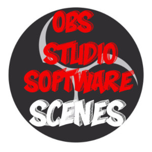 Example of Twitch Stream Scenes for OBS - How to Use OBS Studio Software - OBS Icon