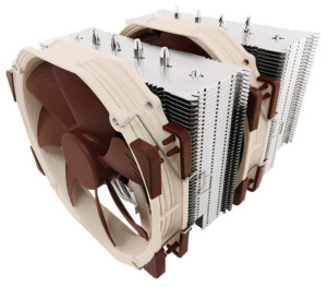 Example of Water Cooling vs Air Cooling vs AIO Cooler - Noctua NH-D15
